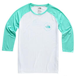 The North Face Women's Heritage 3/4 Baseball Tri-blend T Shirt