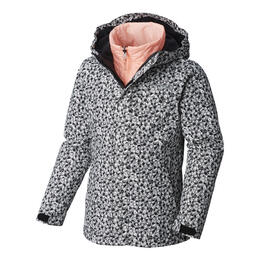 Columbia Girl's Whirlibird II Interchange Rain Jacket