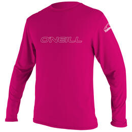 O'neill Kids' Basic Skins Long Sleeve Rash Guard