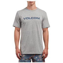 Volcom Men's Crisp Euro Short Sleeve Tee Shirt