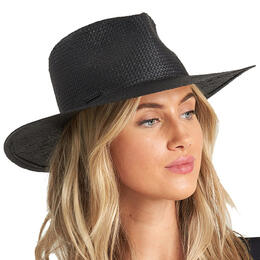 Billabong Women's Desert Palm Straw Fedora Hat