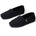Toms Women's Classics Black Felt Slip On Sh