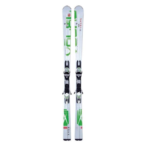 Volkl Men's The Code PSi Frontside Skis with sMotion 12.0 TC D Bindings '13