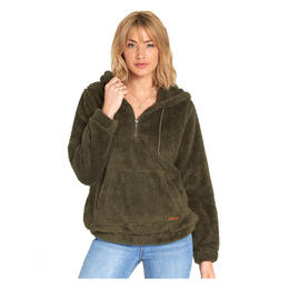 Billabong Women's Cozy Keeps Fleece Pullover Hoodie
