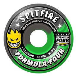 Spitfire Fallout Swirl 54mm Skateboard Wheels