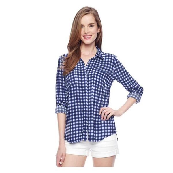 Splendid Women's Gingham Top