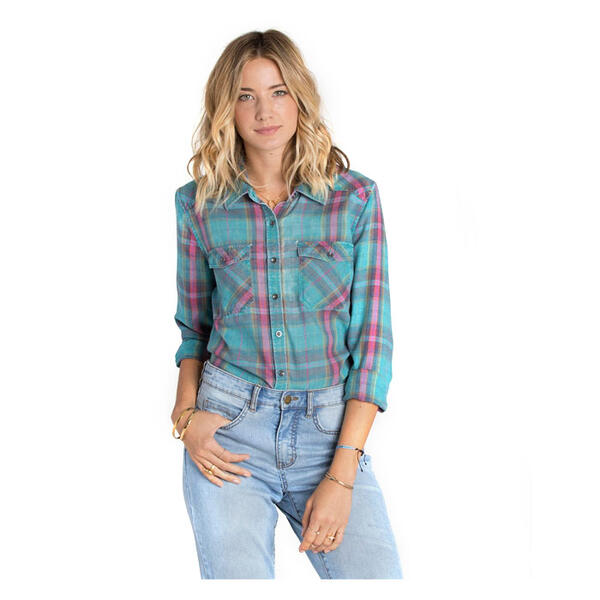 Billabong Women's Flannel Frenzy II Shirt