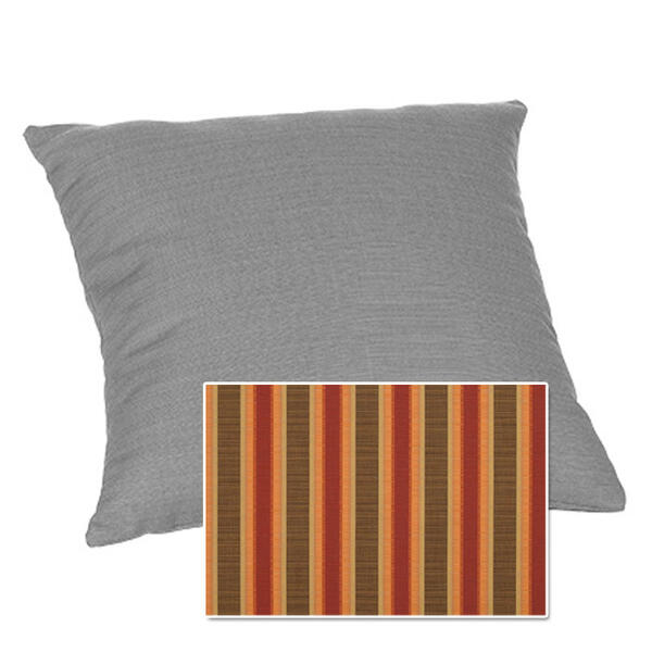 Casual Cushion Corp. 15x15 Throw Pillow - D