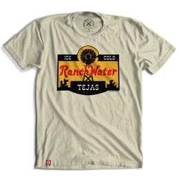Tumbleweed TexStyles Men's Ranch Water Label T Shirt