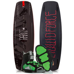 Liquid Force Boy's Rant Wakeboard '19 with Rant Bindings