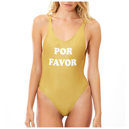 Charlie Holiday Women's Por Favor One Piece Swimsuit
