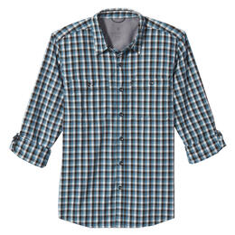 Royal Robbins Men's Vista Dry Plaid Long Sleeve Shirt