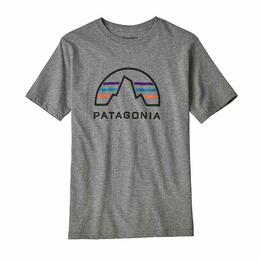 Patagonia Boy's P-6 Logo Organic Cotton T Shirt