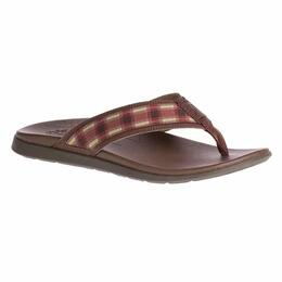 Chaco Men's Marshall Sandals Tartan Rust