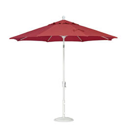 Treasure Garden 9' Push Button Tilt Aluminum Shade Umbrella