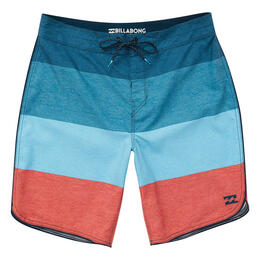 Billabong Men's 73 OG Stripe Boardshorts Navy