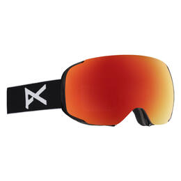 Anon Men's M2 Snow Goggles with Red Solex Lens