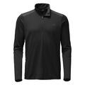The North Face Men's Versitas 1/4 Zip Long Sleeve Shirt Black