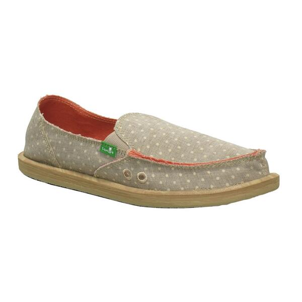 Sanuk Women's Dotty Casual Slip-ons