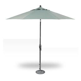 Treasure Garden 9' Auto Tilt Umbrella - Anthracite with Spa