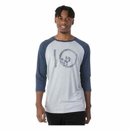 tentree Men's Planters 3/4 Raglan Sleeve Shirt