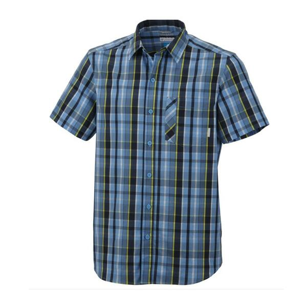 Columbia Sportswear Men's Decoy Rock Short Sleeve Plaid Shirt