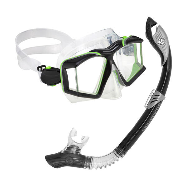 U.S. Divers Sideview II LX Snorkel Set