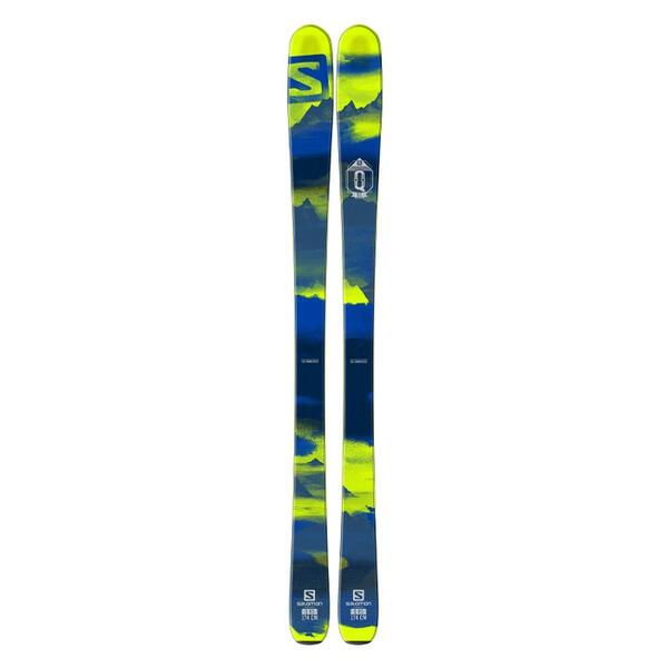 Salomon Men's Q-85 Backside All Mountain Skis '16 - Flat