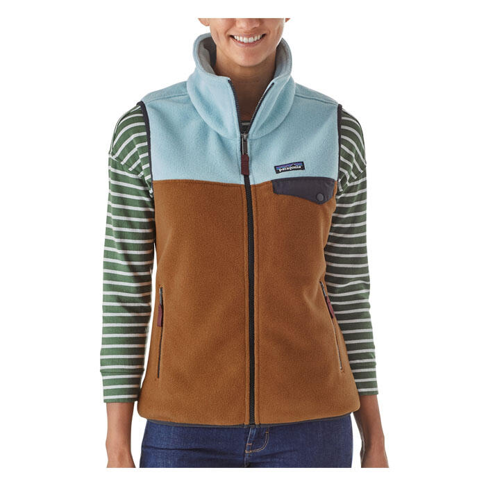 Patagonia Women's Snap-T Vest - Brown Bear