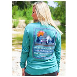 Jadelynn Brooke Women's Dream Extravagantly, Live Adventurously, Love Unconditionally Longsleeve Tee