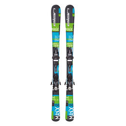 Elan Boys's Maxx QT Skis with EL 7.5 AC QT Bindings '16