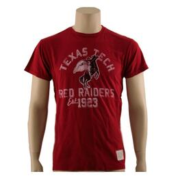 Original Retro Brand Men's Texas Tech Old Style Tee Shirt