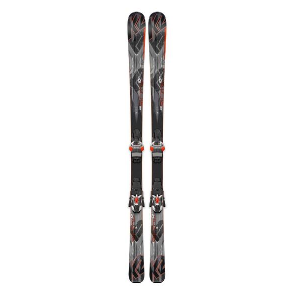K2 Men's AMP Rictor 82XTi All Mountain Skis with MXC 12 TCx Bindings '15
