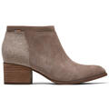 Toms Women's Loren Taupe Suede Casual Shoes