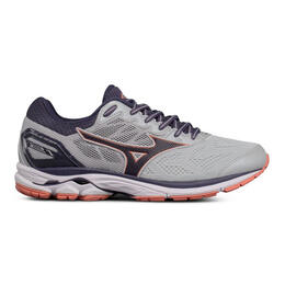Mizuno Women's Wave Rider 21 Running Shoes Graystone