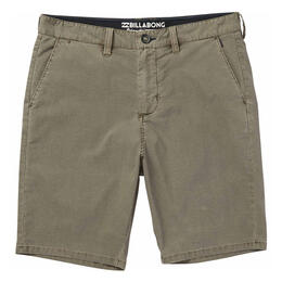 Billabong Men's New Order X Overdye Shorts Khaki