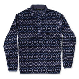 Southern Marsh Men's Tangier Ikat Fleece Pullover