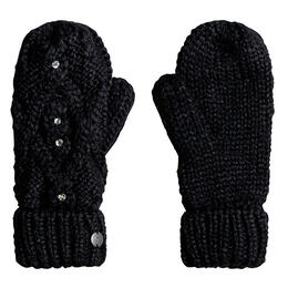 Roxy Women's Shooting Star Mittens Black/Blue