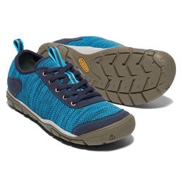 Keen Women's Vivid Blue Hush Knit Casual Shoes