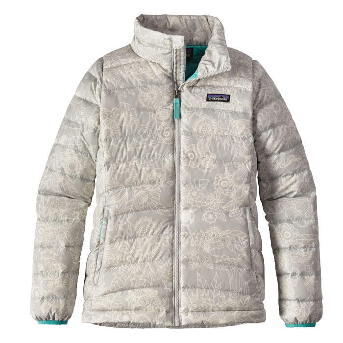 Patagonia Girl's Down Sweater Jacket - Cudd