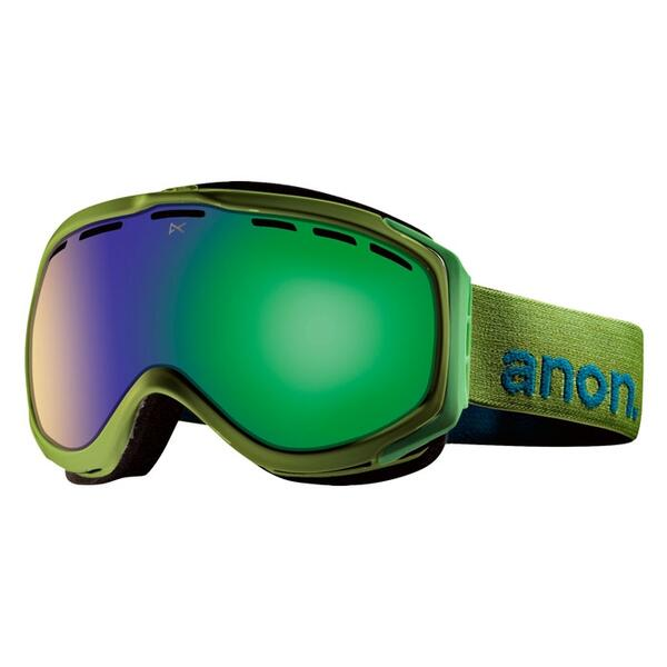 Anon Hawkeye Goggles with Green Solex Lens