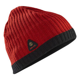 Bogner Fire + Ice Men's Helm Hat Red/Black