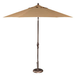 Treasure Garden 9' Auto Tilt Umbrella - Bronze with Cork