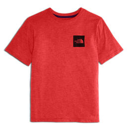 The North Face Boy's Triblend Short Sleeve T-shirt