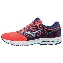 Mizuno Women's Wave Shadow Running Shoes Coral
