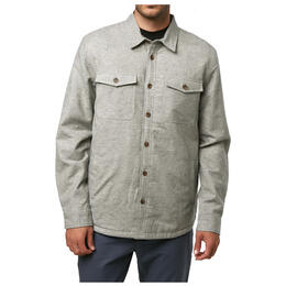 O'neill Men's Gravel Lined Lined Button Down Long Sleeve Shirt