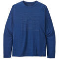 Patagonia Men's Capilene™ Cool Daily Graphic Long Sleeve Shirt alt image view 11
