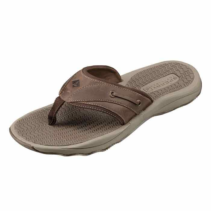 Sperry Men's Outer Banks Thong Brown Flip F