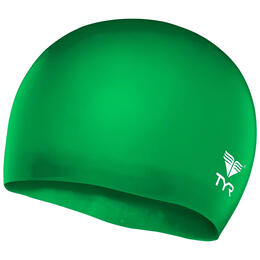 TYR Youth's Wrinkle-Free Silicone Swim Cap