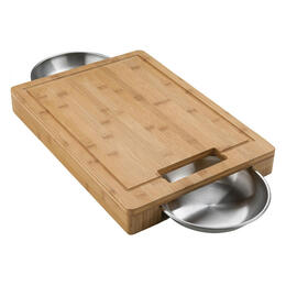 Napoleon Cutting Board With Bowls